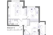 Планировка квартиры или жилого дома, перепланировка и визуализация 124 - kwork.ru