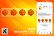 8 потрясающих иконок для вечных сторис инстаграм 120 - kwork.ru