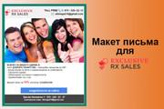 Создам красивое HTML- email письмо для рассылки 78 - kwork.ru