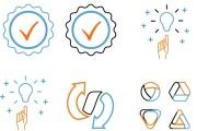 Нарисую 6 иконок в любом стиле 56 - kwork.ru