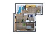 Сделаю 3д визуализацию плана для дома, квартиры 29 - kwork.ru