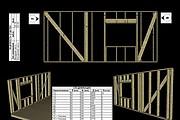 Сделаю 3D проект каркасного дома 16 - kwork.ru