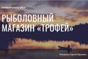 Стильный дизайн презентации 830 - kwork.ru