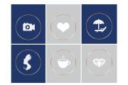 Оформление профиля Инстаграм. Уникальный дизайн в Instagram 47 - kwork.ru