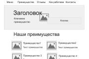Создам структуру, прототип продающего лендинга, одностраничника 6 - kwork.ru