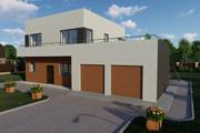 Фотореалистичная 3D визуализация экстерьера Вашего дома 351 - kwork.ru