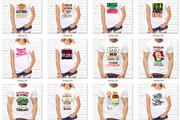 3729 принтов для футболок на русском языке в формате PNG, CDR, JPEG 10 - kwork.ru