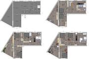 Интересные планировки квартир 119 - kwork.ru