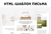 Сверстаю адаптивное HTML письмо для рассылки. Сделаю дизайн 6 - kwork.ru