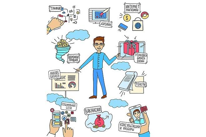 Создание иллюстраций 10 - kwork.ru