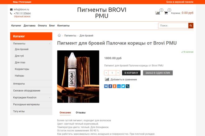 Профессионально создам интернет-магазин на insales + 20 дней бесплатно 20 - kwork.ru