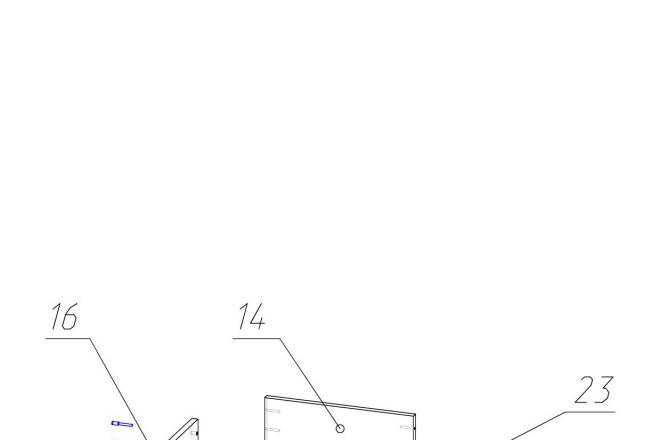 Конструкторская документация для изготовления мебели 141 - kwork.ru