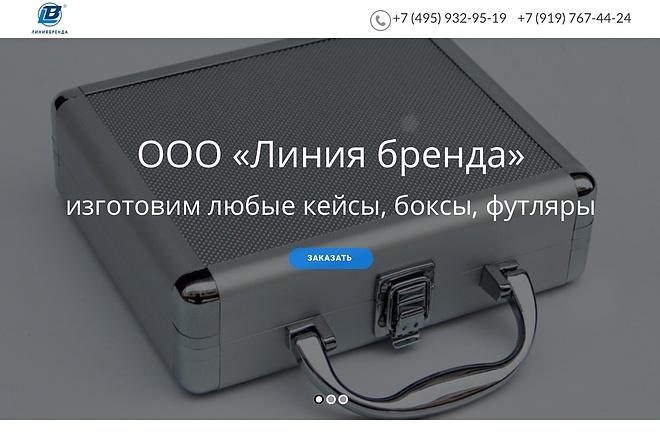 Создание одностраничника на Wordpress 61 - kwork.ru