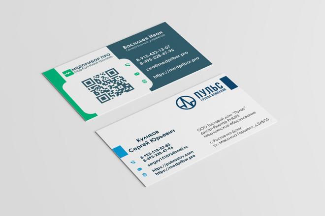 Разработаю красивый, уникальный дизайн визитки в современном стиле 25 - kwork.ru