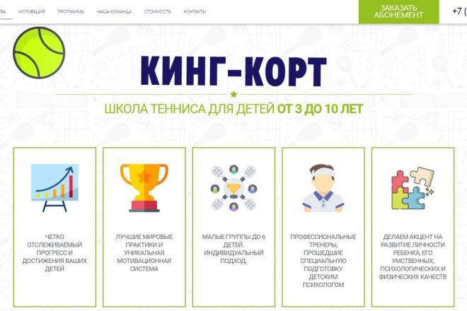 Лендинг для любых целей на Wordpress 10 - kwork.ru