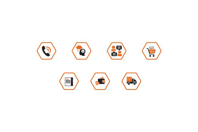 Создам 5 иконок в любом стиле, для лендинга, сайта или приложения 9 - kwork.ru