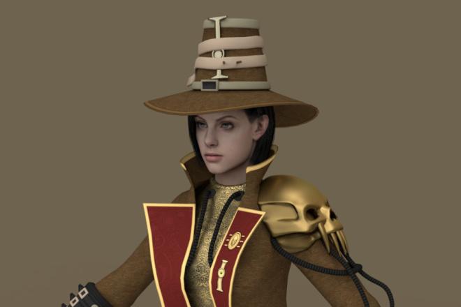 3D персонаж для игрового проекта 4 - kwork.ru