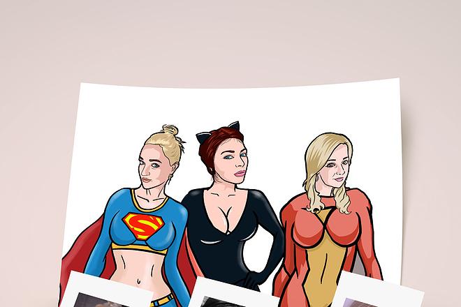 Нарисую для Вас иллюстрации в жанре карикатуры 134 - kwork.ru