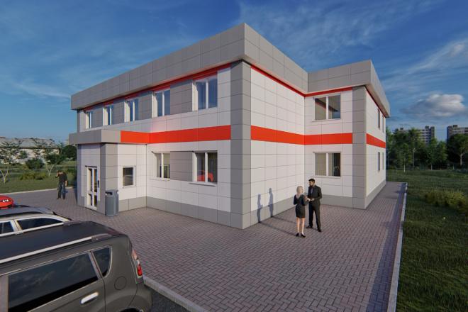 Фотореалистичная 3D визуализация экстерьера Вашего дома 78 - kwork.ru