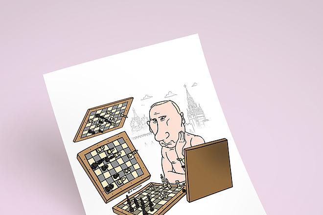 Нарисую для Вас иллюстрации в жанре карикатуры 189 - kwork.ru
