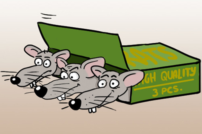 Нарисую простую иллюстрацию в жанре карикатуры 50 - kwork.ru
