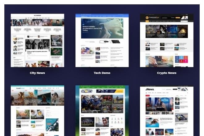ПАК 1000 шаблонов и дополнений для WordPress 10 - kwork.ru