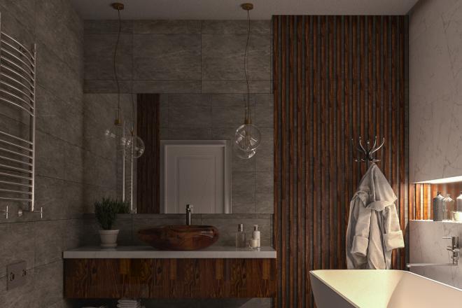 Фотореалистичная 3D визуализация интерьера 38 - kwork.ru