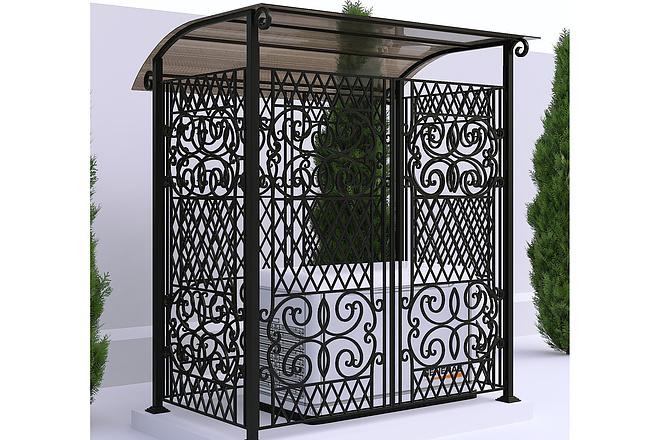Сделаю 3d модель кованных лестниц, оград, перил, решеток, навесов 9 - kwork.ru