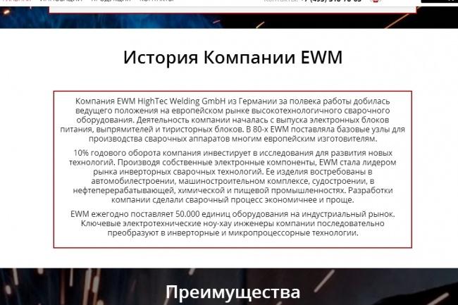 Создам лендинг на вордпресс 61 - kwork.ru