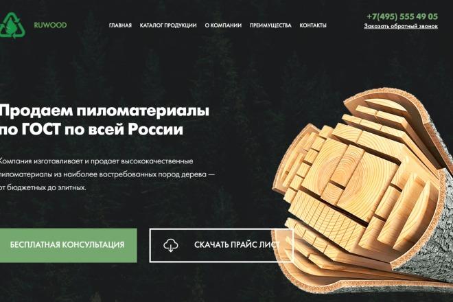 Вёрстка сайтов по доступной цене 58 - kwork.ru