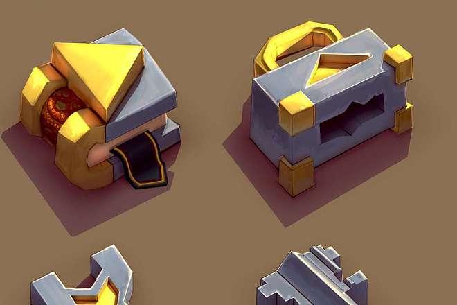 Нарисую 2d графику для Вашей игры 3 - kwork.ru