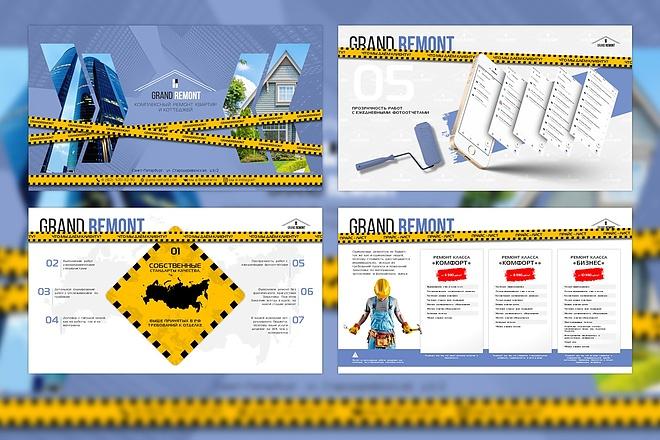 Оформление презентации товара, работы, услуги 72 - kwork.ru