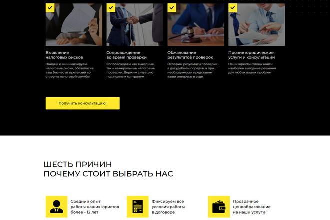 Создам продающий Landing Page под ключ 4 - kwork.ru