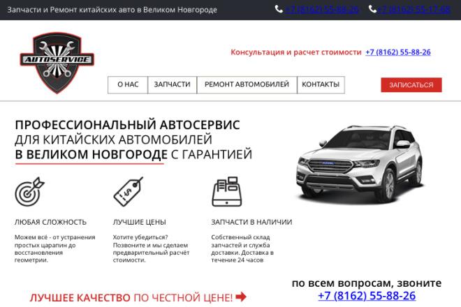 Вёрстка сайта по готовому макету 1 - kwork.ru