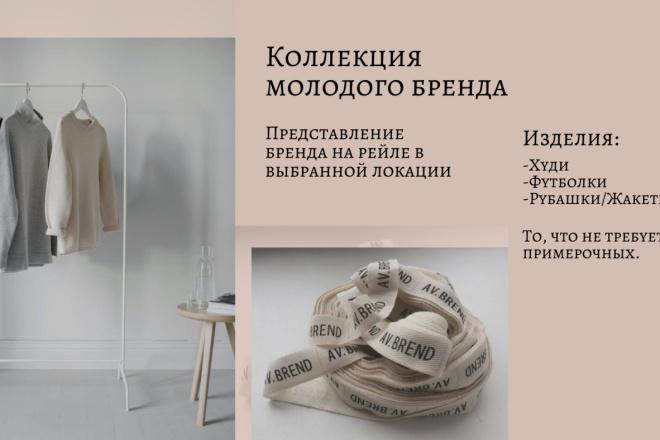Стильный дизайн презентации 207 - kwork.ru