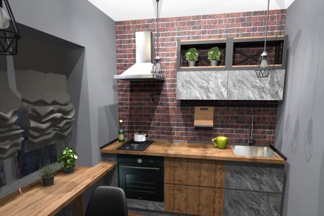Проектирование корпусной мебели 29 - kwork.ru