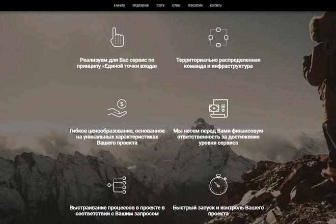Лендинг для любых целей на Wordpress 37 - kwork.ru