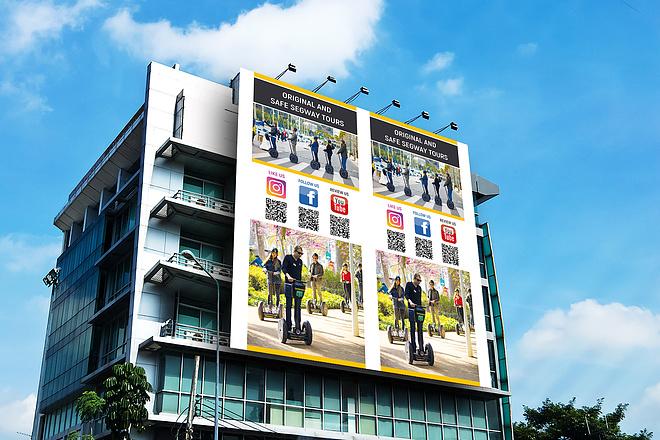 Разработаю дизайн наружной рекламы 42 - kwork.ru