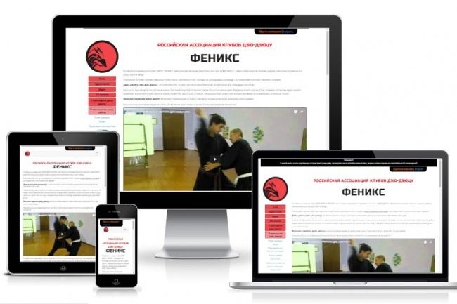 Адаптивная верстка с использованием Bootstrap 3 или 4 в html+css 7 - kwork.ru