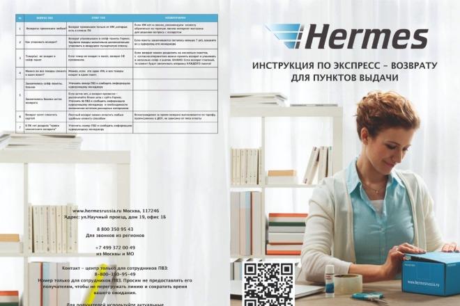 Дизайн флаеров, листовок 5 - kwork.ru