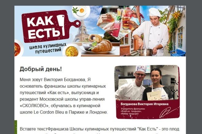 Сделаю адаптивную верстку HTML письма для e-mail рассылок 93 - kwork.ru