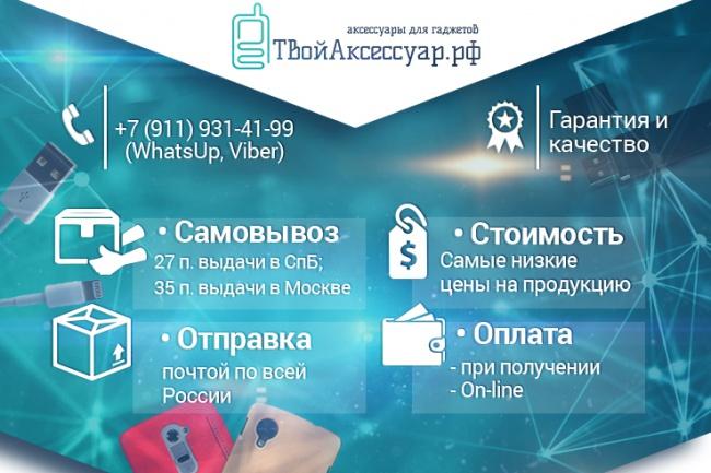 Сделаю оформление групп в социальных сетях или каналах 25 - kwork.ru