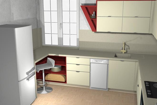 Создам 3D дизайн-проект кухни вашей мечты 17 - kwork.ru