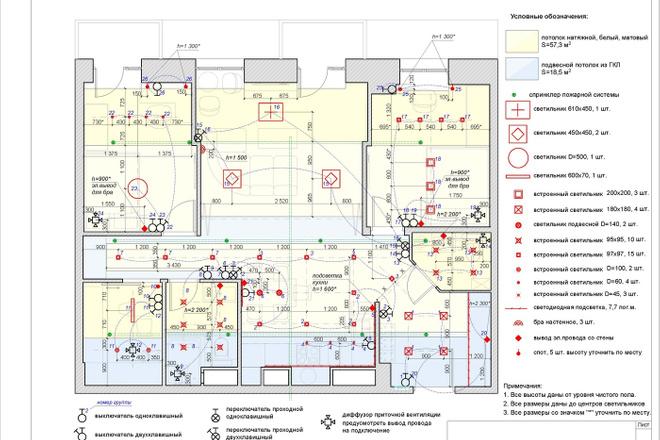 Планировочное решение квартиры, дома. Перепланировка. Планировка 25 - kwork.ru