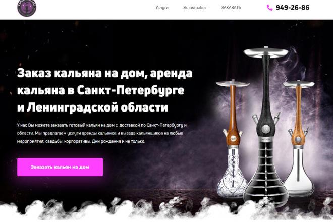 Сделаю классный Лендинг на Elementor Pro 18 - kwork.ru