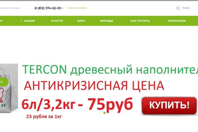 Максимум от Аспро - интернет-магазин aspro. max 1 - kwork.ru