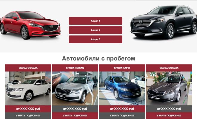 Вёрстка сайтов по доступной цене 4 - kwork.ru