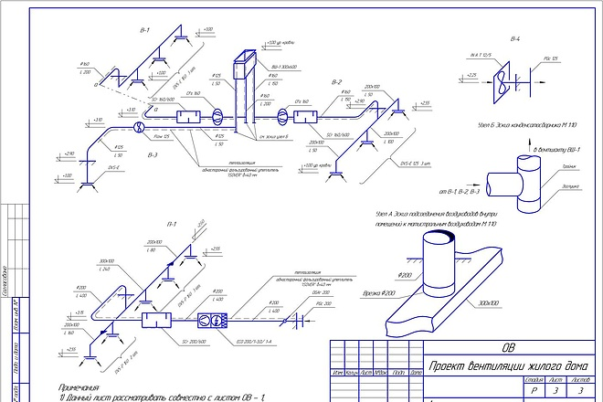 Проектирование вентиляции 30 - kwork.ru