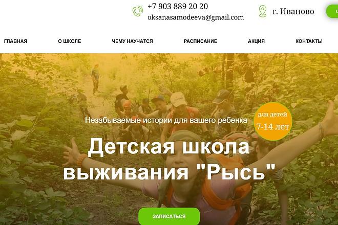 Создание сайта - Landing Page на Тильде 53 - kwork.ru