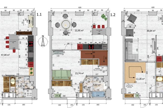 Интересные планировки квартир 26 - kwork.ru